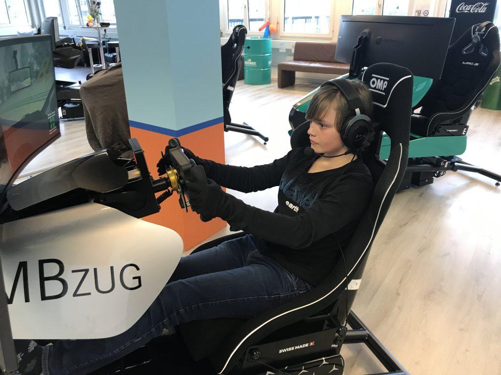 Kid Racing Simulator