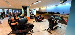 Lounge, Simulator, Racing