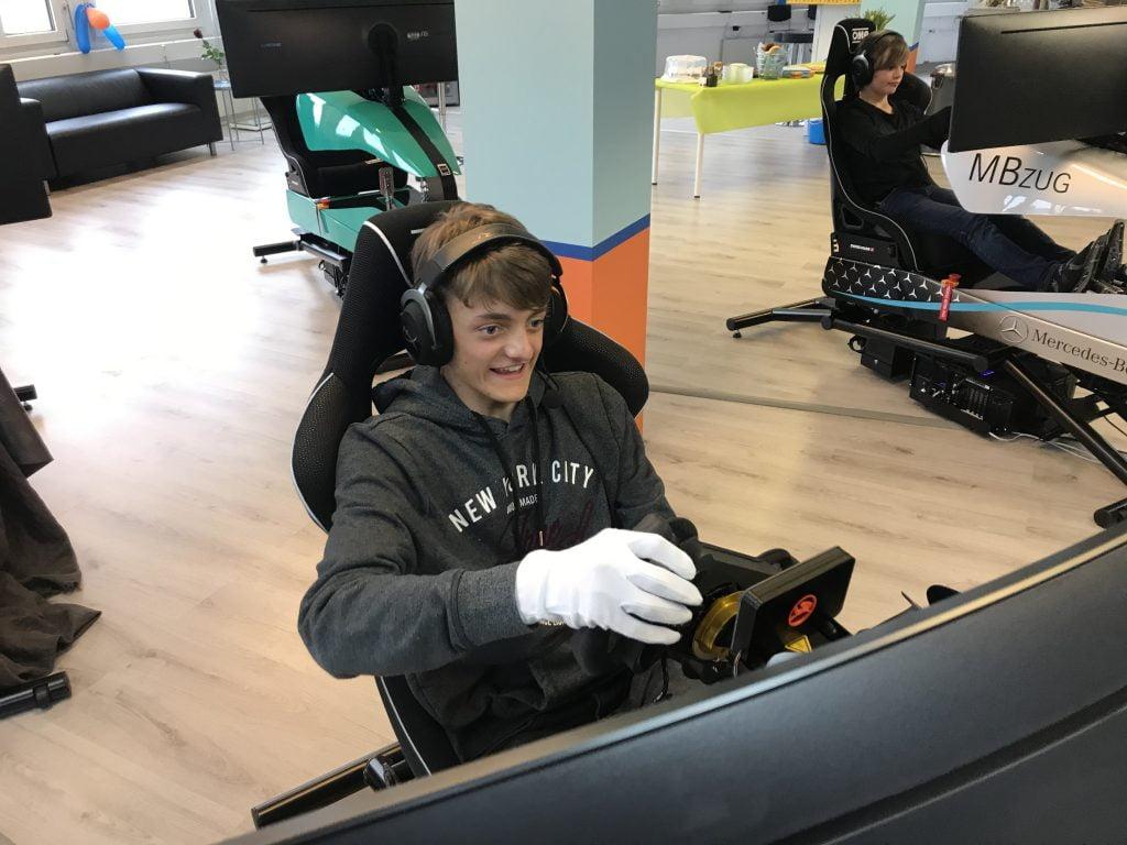Teen Racing Simulator